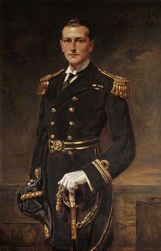 """Lieutenant Edward Newdigate Boulton, Leon Sprinck """