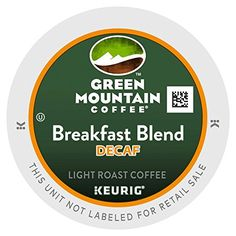 Green Mountain Coffee Decaf Breakfast Blend  (Light Roast Coffee), K-Cup Portion Pack for Keurig K-Cup Brewers (Pack of 24) >>> Read more reviews of the product by visiting the link on the image.
