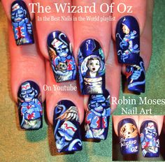 736 Best Robin Moses Nail Art Images On Pinterest In 2018 Nail Art