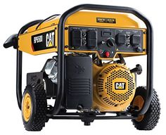 Cat 6500 Running Watts and 8125 Starting Watts with Electric Start Gas Powered Portable Generator Patio, Lawn & Garden Running Equipment, Outdoor Power Equipment, Electric Start Generator, Portable Power Generator, Generators For Sale, Inverter Generator, Rv Parts, Voltage Regulator, Buy A Cat
