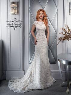 d34450b30253 Luxusné krajkované svadobné šaty SALLY