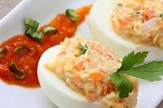 Bramborový salát na chlebíčky Potato Salad, Mashed Potatoes, Tacos, Eggs, Breakfast, Ethnic Recipes, Food, Morning Coffee, Smash Potatoes