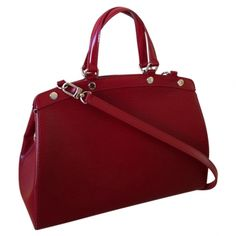 Epi leather brea mm LOUIS VUITTON Red.....want this!