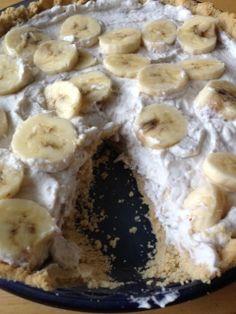 Real Food Banana Cream Pie (GF, Sugar-Free, Paleo/Dairy-Free)