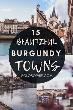 15 Beautiful Villages & Towns in Burgundy you'll fall in love with. Avallon, Cluny, Chablis, etc (Bourgogne, France) Corsica, Cluny France, Paris In December, Places To Travel, Places To Go, France Travel, Paris Travel, Burgundy France, Pays De La Loire