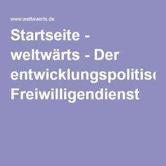 Startseite - weltwärts - Der entwicklungspolitische Freiwilligendienst