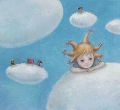 Splashes in the World: The illustrations Catherine Zarip: imaginary children