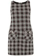Petite Red Check Pocket Pinny
