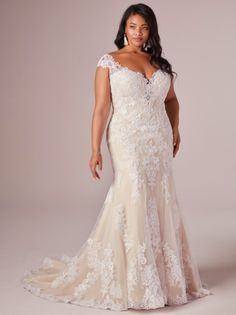 Rebecca Ingram Daphne Lynette is available in size 24 for trying on at Diane's! Wedding Dresses Plus Size, Plus Size Wedding, Cheap Wedding Dress, Wedding Dress Styles, Bridal Dresses, Curvy Bride, Curvy Dress, Maggie Sottero, Different Dresses