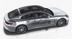Neue Porsche Panamera der optionalen Burmester Soundsystem kostet so viel wie ein Dacia Sandero gadgets New Cars Porsche Porsche Panamera