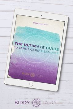 To card tarot ultimate meanings pdf the guide