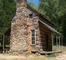 Similar to the Cray Cabin overlooking Flathead Lake.