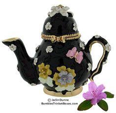 Trinket Box: Black Tea PotTrinket Box