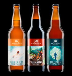 This line of beer from Whitetooth Brewing Company will make you want to grab your camping gear and plan a weekend trip to the nearest national park. Canadian agency Hired Guns Creative associated outdoor activities for each of these flavorful brews and gave them a clever name to match.