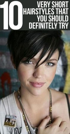 Hair Shorthair Hairstyles By Wanda Lo Shorthair - Hair Beauty Really Short Hair, Short Hair Cuts, Short Hair Styles, Funky Short Hair, Pixie Styles, Short Hairstyles For Women, Trendy Hairstyles, Pixie Hairstyles, Summer Hairstyles