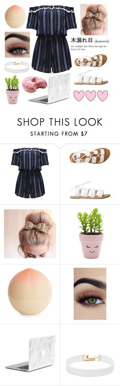 """""""Youtube Inspired - Zoella"""" by fiona137 ❤ liked on Polyvore featuring WithChic, Billabong, New Look, Tony Moly and Vanessa Mooney"""