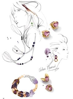 By yohanna design jewelry wholesale - Swarovski® Elements Fashion Trends: Fall/Winter 2014/2015