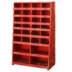 Giant Mid Century Storage From Southern Hardware Store - lego organization?