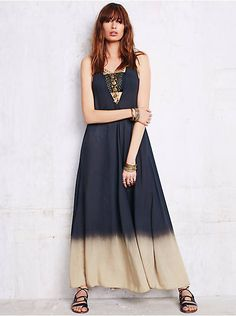 Free People Mississippi Queen Washed Dress, $148.00