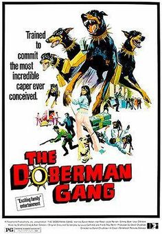 The Doberman Gang - 1972 - Movie Poster