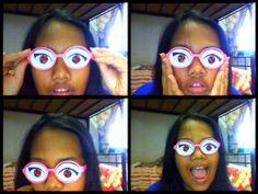 #eyes #lol #eyeglass #narsis #girl #cool