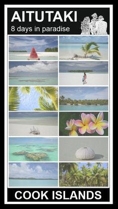 AITUTAKI, Cook islands - lagoon cruise, snorkelling, hiking, kayaking and more