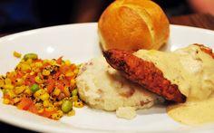 Chicken Fried Chicken at carnation cafe