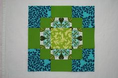 Antique Tile Block by sonnetofthemoon, via Flickr (link to a lot of other quilt block tutorials as well)