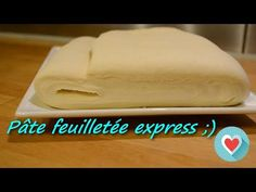Inverted puff pastry: the crunchy recipe and well inflated for patties! Beurre Vegan, Easy Puff Pastry Recipe, Croissant, Butter Dish, Donuts, Biscuits, Sandwiches, Bakery, Food And Drink
