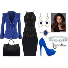 Blue Beauty, created by zionsmama on Polyvore