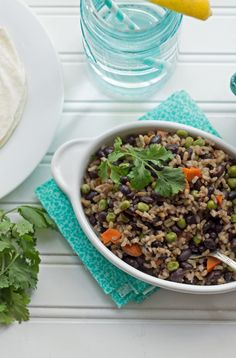 One Pot Black Beans and Rice #recipe