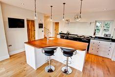 Bespoke kitchens, bedrooms, bathrooms and furniture. Welsh craftsmanship bringing your kitchen dreams to life. Island Food, Bespoke Kitchens, Food Preparation, Dining Area, Kitchen Design, Hardwood, Furniture, Home Decor, Homemade Home Decor