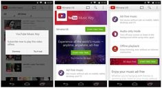 """Google estaría preparando el lanzamiento de un nuevo servicio de música bajo el nombre de """"YouTube Music Key"""", el cual complementaría a Google Play Music."""