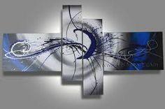 Resultado de imagen para arte abstracto blanco y negro
