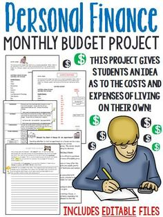 """OUT OF THE DEEP FREEZE! This project reinforces practical money skills, and teaches the budgeting process in a fun and engaging way. Students will learn the differences between """"need"""" and """"want"""" items, and will experience what it's like to live on their own!"""