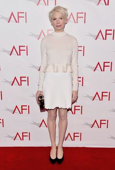 Michelle Williams attends the 17th annual AFI Awards at Four Seasons Los Angeles at Beverly Hills on January 6, 2017 in Los Angeles, California.