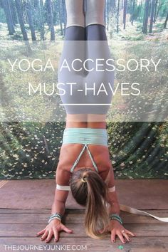Yoga Accessories: The Must-Haves - The Journey Junkie