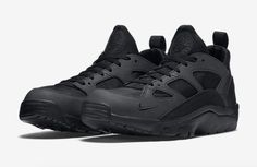 In stock now. Nike Air Trainer Huarache Low Black.  http://ift.tt/1O5JIv3