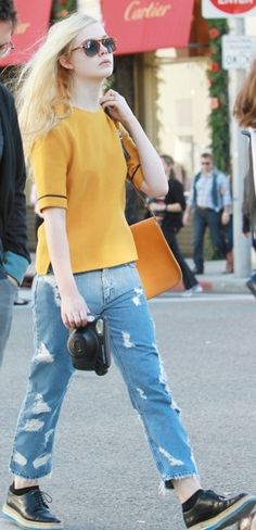 Elle Fanning has an awesome style, all her own.