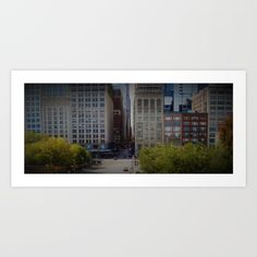 Chicago / Illinois / Downtown / Loop / September 2009 / Art print on sale @ society6.com