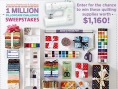 American Patchwork & Quilting One Million Pillowcase Challenge Winter Sweepstakes