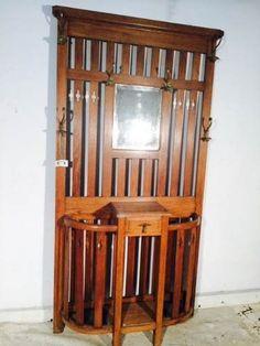 Mueble recibidor perchero parag ero foto 1 - Paragueros antiguos ...