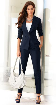 Shop a wide selection of business attire for women. Wear to work outfits, including work dresses, pants, suits, & more. Business Casual Outfits, Professional Outfits, Business Attire, Office Outfits, Business Suits For Women, Business Professional, Business Fashion, Office Fashion, Work Fashion