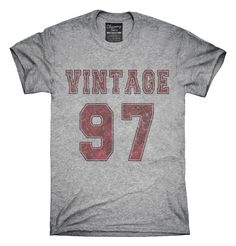 1997 Vintage Jersey T-Shirts, Hoodies, Tank Tops