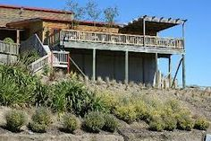 Murdoch James Estate - Back Gardens and Bloom Restaurant Decking Rock Hill, Back Gardens, Decking, Holidays And Events, Bloom, Restaurant, Cabin, House Styles