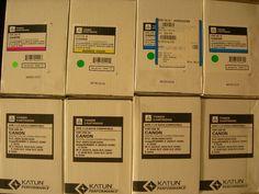 Lot of 8 Canon GPR 11 Toner Cartridges Black Cyan Magenta Yellow 2620 3200 3220 | eBay
