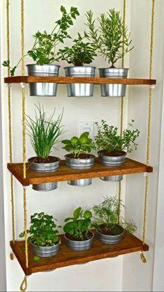 Diy Herb Garden, Herb Garden Design, Herbs Garden, Vegetable Garden, Garden Fun, Garden Tips, Rocks Garden, Garden Projects, Wood Projects