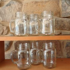 Mason Jar Mugs set of 12 by masonjardecor on Etsy, 24.00