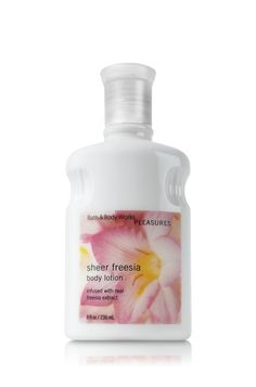 Sheer Freesia Body Lotion - Signature Collection - Bath & Body Works