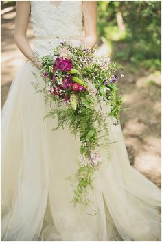 Wedding dress: Ann Green - South African Forest Wedding Inspiration by Green Goddess Flower Studio (Flowers, Decor and Styling) + Ronél Kruger Photography & Art (Photographer and Shoot Concept) - via ruffled